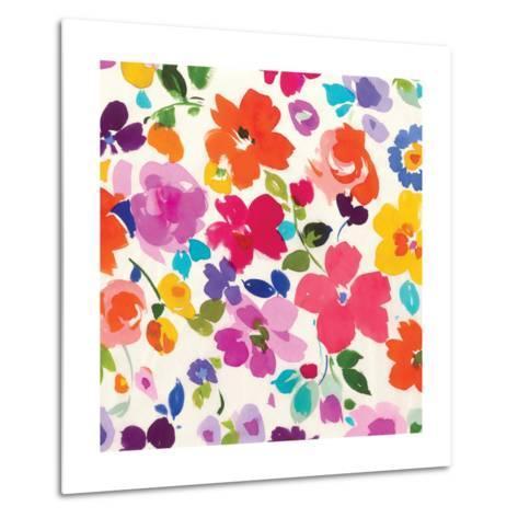 Bright Florals  I-Hugo Wild-Metal Print