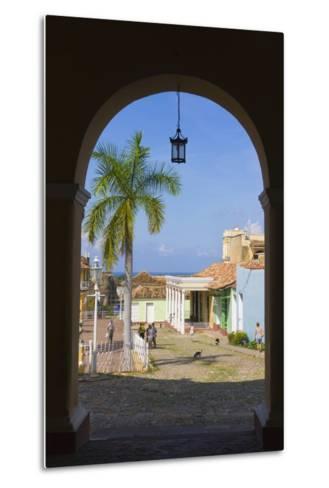 Old City Gate, Trinidad, UNESCO World Heritage Site, Cuba-Keren Su-Metal Print