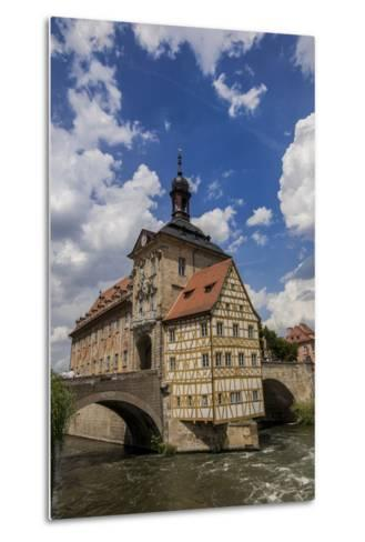 Old Town Hall, Altes Rathaus, Bamberg, Germany-Jim Engelbrecht-Metal Print