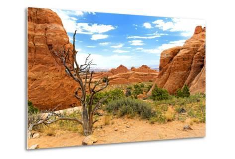 Landscape - Arches National Park - Utah - United States-Philippe Hugonnard-Metal Print