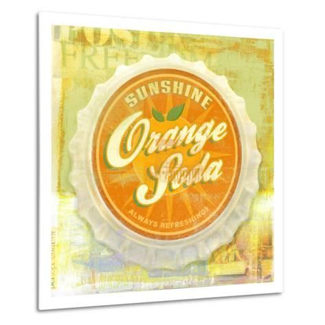 Orange-Cory Steffen-Metal Print