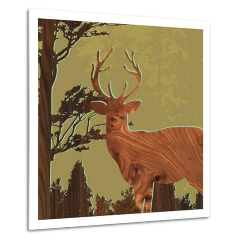 Deer 1-jefdesigns-Metal Print