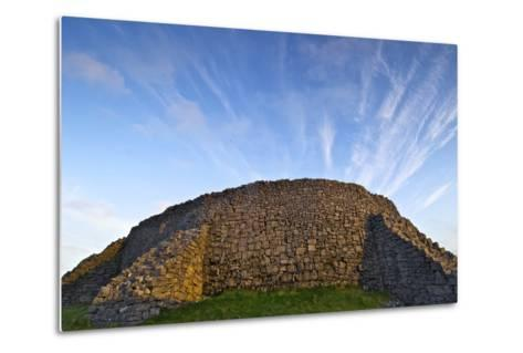 The Dry Stone Prehistoric Concentric Celtic Ring Fort of Dun Aengus-Jim Ricardson-Metal Print