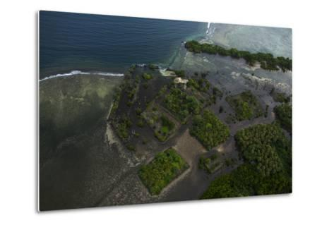 The Ancient Ruins of Micronesia's Nan Madol, Seen From the Air-Stephen Alvarez-Metal Print