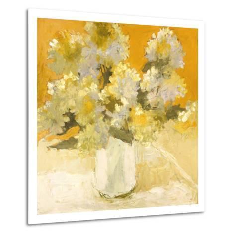 White Hydrangea Bouquet-Dale Payson-Metal Print