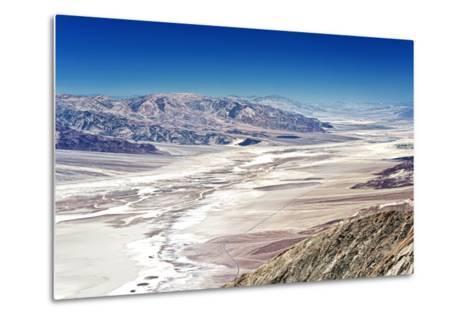 Dante's view - Blacks mountains - Death Valley National Park - California - USA - North America-Philippe Hugonnard-Metal Print