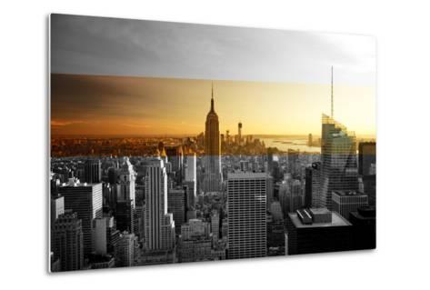 Empire State Building - Sunset - Manhattan - New York City - United States-Philippe Hugonnard-Metal Print