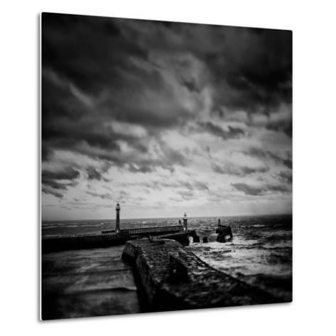 Whitby Blowing-Rory Garforth-Metal Print