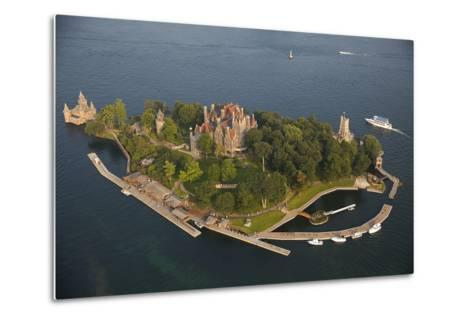 Boldt Castle On Heart Island in the Thousand Islands-Will Van Overbeek-Metal Print