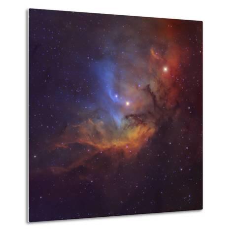 The Tulip Nebula (Sh2-101) in Cygnus-Stocktrek Images-Metal Print