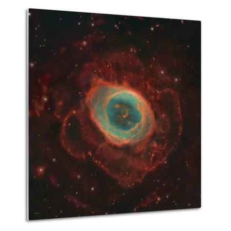 Messier 57, the Ring Nebula-Stocktrek Images-Metal Print