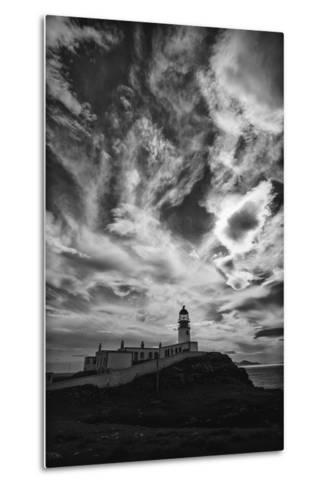 Light Change Over Lighthouse-Rory Garforth-Metal Print