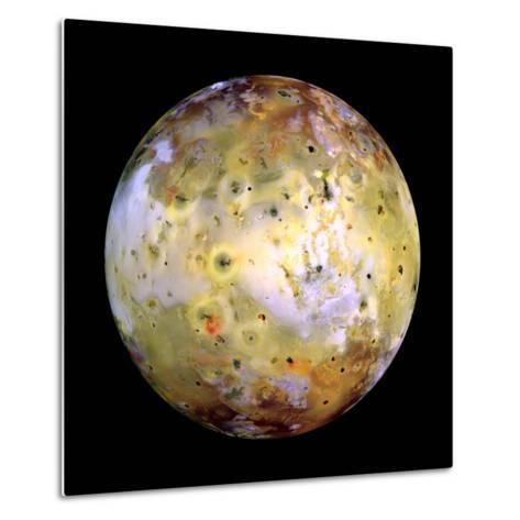 Jupiter's Moon Lo-Stocktrek Images-Metal Print