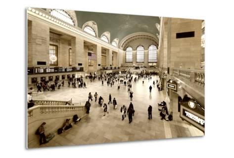 Grand Central Station - 42nd Street - Manhattan - New York City - United States-Philippe Hugonnard-Metal Print