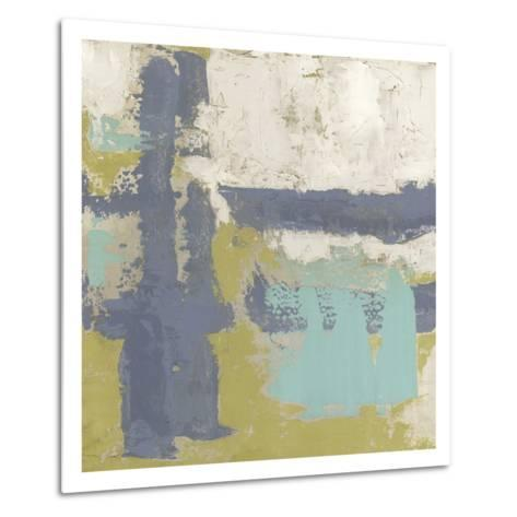 Chelsea Abstract I-Megan Meagher-Metal Print