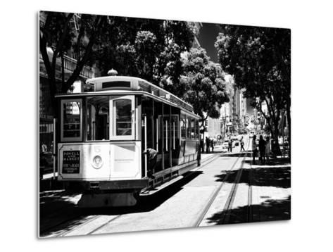 Cable Cars - Streets - Downtown - San Francisco - Californie - United States-Philippe Hugonnard-Metal Print