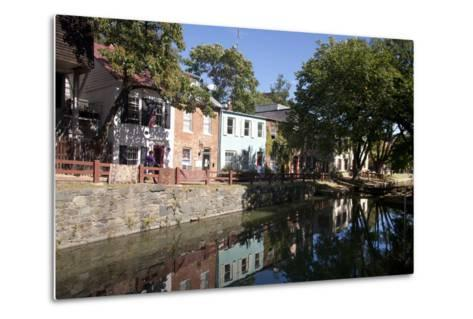 The C&O Canal Towpath in Georgetown, District of Columbia-Skip Brown-Metal Print