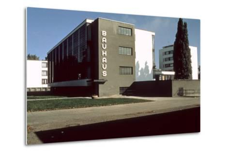Bauhaus Workshop, Dessau--Metal Print