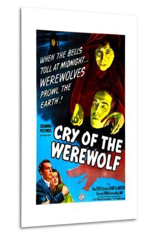 Cry of the Werewolf--Metal Print