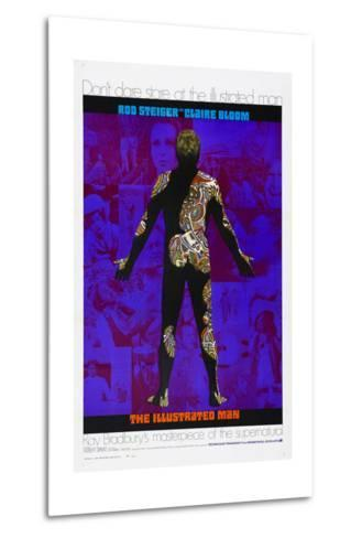 THE ILLUSTRATED MAN, US poster, 1969--Metal Print
