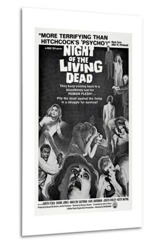 Night of the Living Dead, 1968--Metal Print