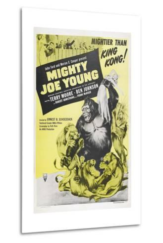 MIGHTY JOE YOUNG, US poster, Terry Moore, Mighty Joe Young, 1949--Metal Print
