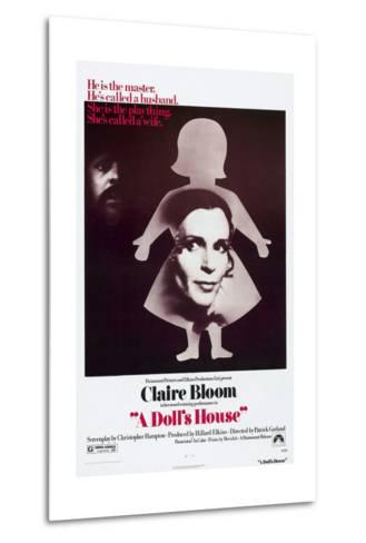 A Doll's House, Anthony Hopkins, Claire Bloom, 1973--Metal Print