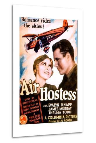 Air Hostess, Evalyn Knapp, James Murray, 1933--Metal Print