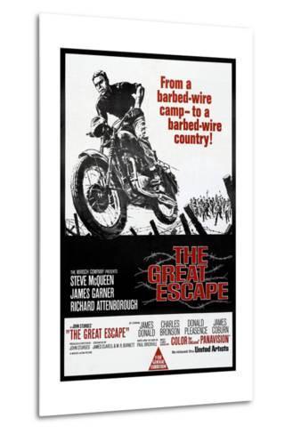 The Great Escape, Steve McQueen, 1963--Metal Print