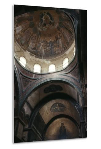 Dome and Apse, Church of Hagia Sophia--Metal Print