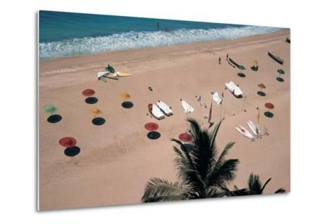 Beach, Bogmalo--Metal Print