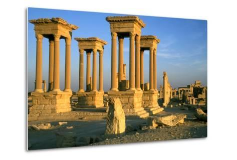 The Tetrapylon on the Colonnaded Central Street--Metal Print