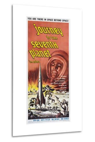 JOURNEY TO THE SEVENTH PLANET, poster art, 1962--Metal Print