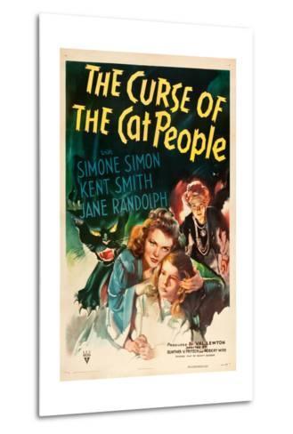 The Curse of the Cat People, Simone Simon, Ann Carter, Julia Dean, 1944--Metal Print