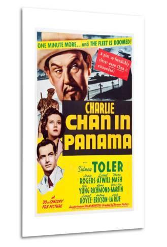 Charlie Chan in Panama--Metal Print