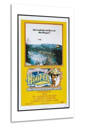 Hooper, US poster, Burt Reynolds, 1978, © Warner Brothers/courtesy Everett Collection--Metal Print