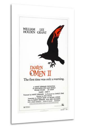Damien: Omen II, US poster, 1978, TM & Copyright © 20th Century Fox/courtesy Everett Collection--Metal Print