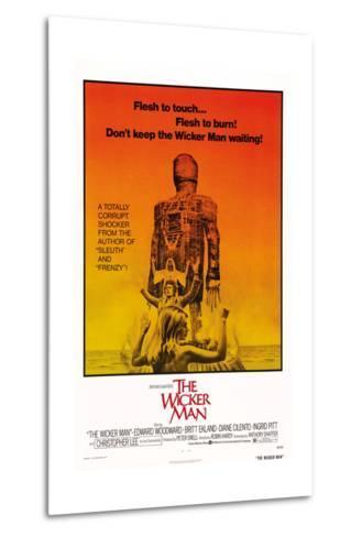 The Wicker Man, Diane Cilento, Christopher Lee, Britt Ekland, 1973--Metal Print