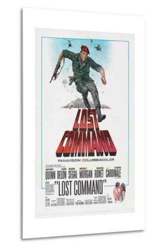 LOST COMMAND, US poster, Anthony Quinn, 1966--Metal Print