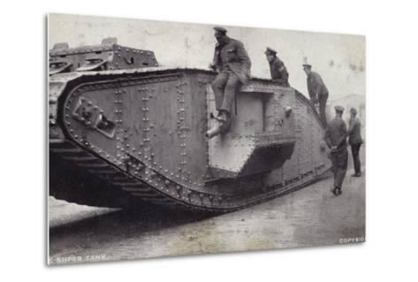 The Super Tank--Metal Print