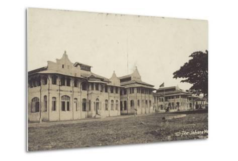 The Johore Hotel--Metal Print