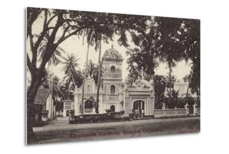 The Mosque in Cinnamon Gardens--Metal Print