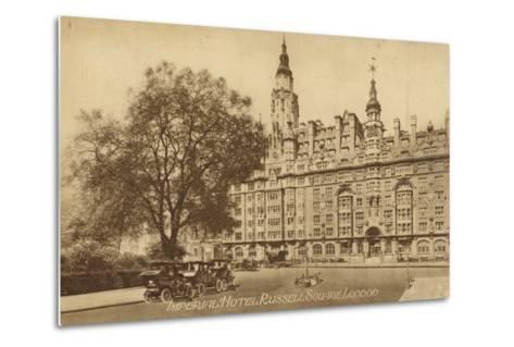 Imperial Hotel Russell Square, London--Metal Print