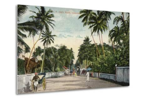 Galle Road in Colombo--Metal Print