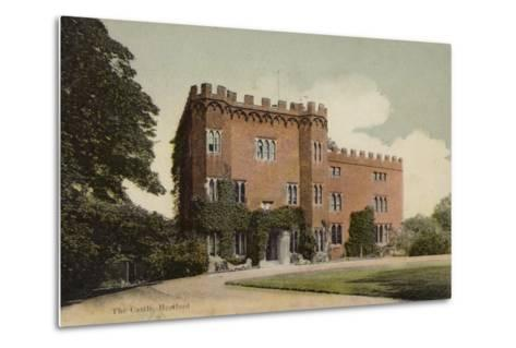 The Castle, Hertford--Metal Print