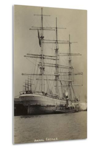 Amiral Cecille, French Bounty Ship--Metal Print