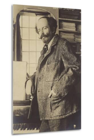 Portrait of Bertram Shapleigh--Metal Print