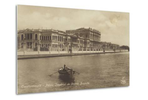 Dolmabahce Palace, Constantinople, Turkey--Metal Print
