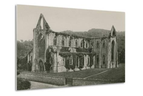 Tintern Abbey-English Photographer-Metal Print