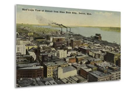 Detroit, Michigan, USA--Metal Print